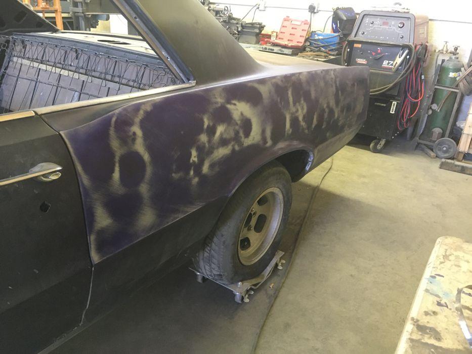 Goodmark Right Side Rear Lower Quarter Panel Skin Piece for 64-65 Pontiac GTO